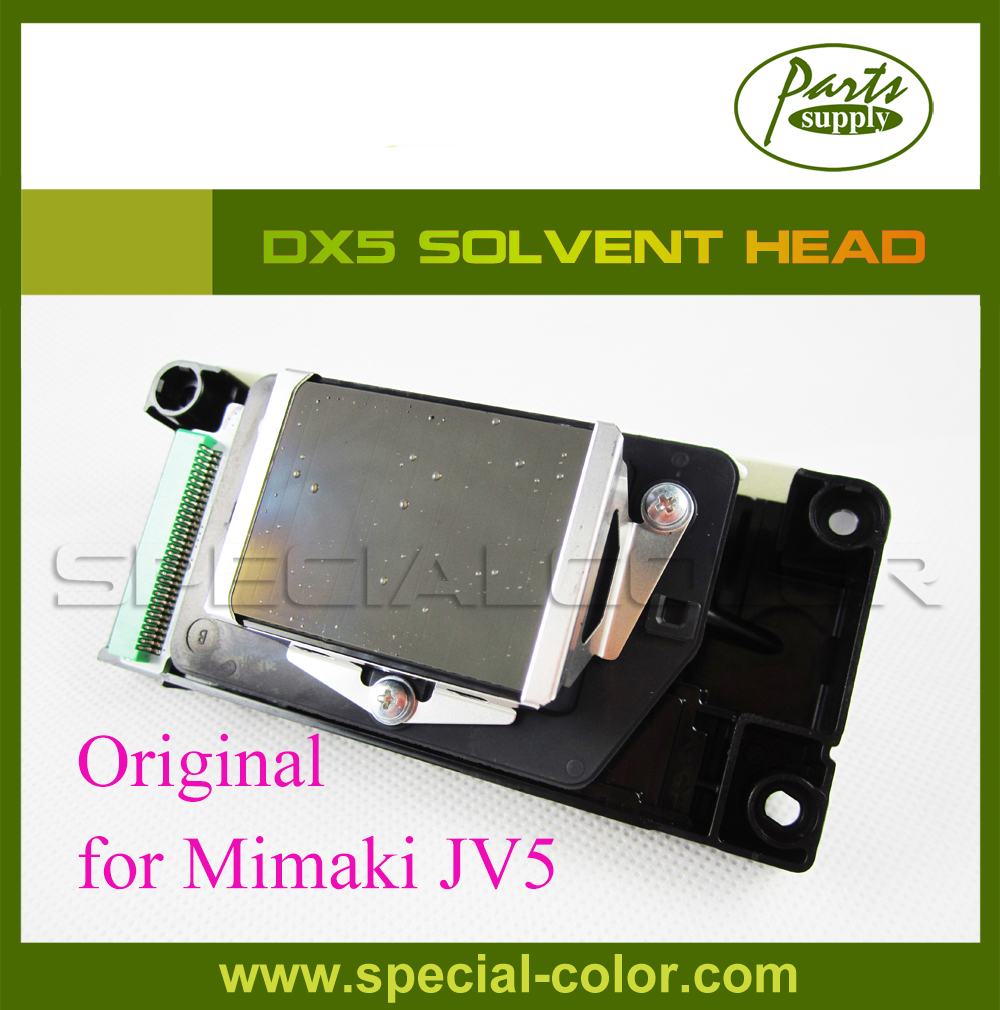 Mimaki JV5 DX5 Printhead Original from Japan, with Green Connector and Memory Board 4pcs pack japan mimaki jv5 cap station dx5 eco solvent capping station top original