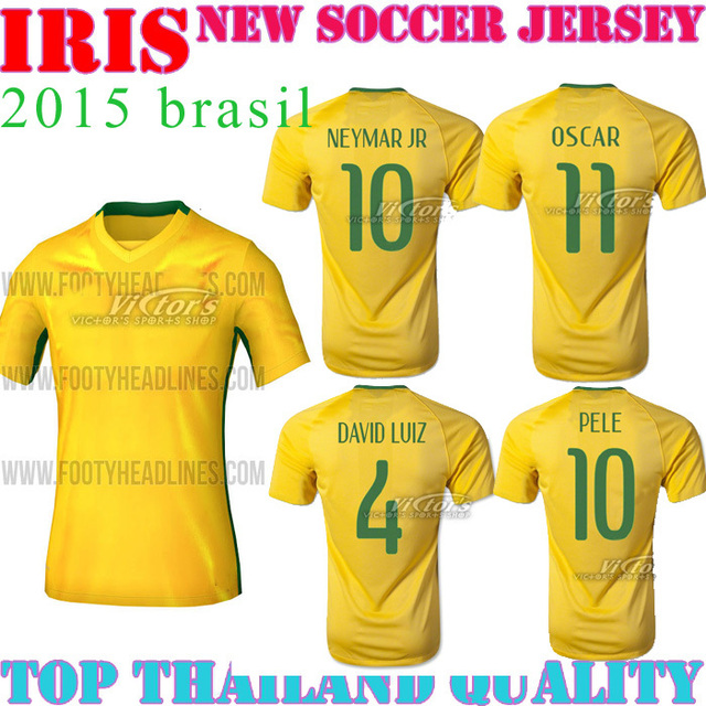 brazils 2015 copa america jersey home away neymar jr 11 2016 brasiler oscar t.silve