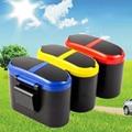 Free shipping creative fashion double cover trash can, hanging debris bucket, car debris bucket