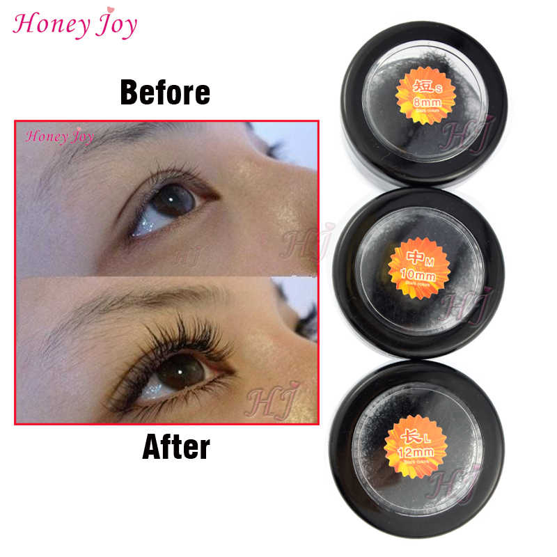 48be16366fd Perfect C curve 3D Beauty Makeup 8/10/12mm Grafting Fake False Mink  Eyelashes