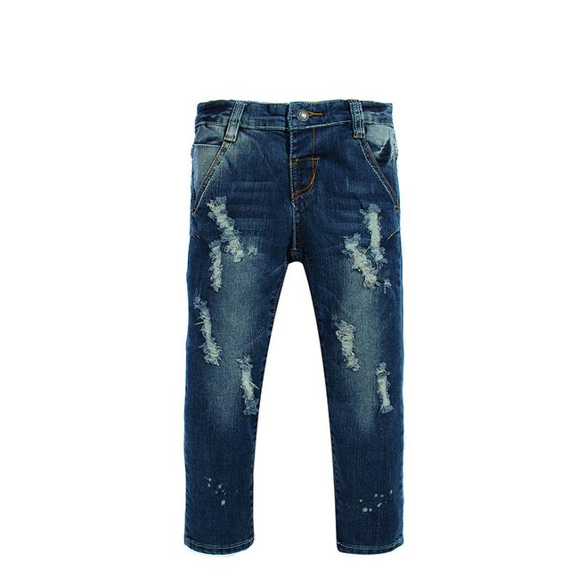 2016 barato al por mayor jeans para niños chicos denim leggings 2 t 3 t 4 t 5 t muchachos de los pantalones vaqueros ocasionales de los niños pantalones de mezclilla libre gratis