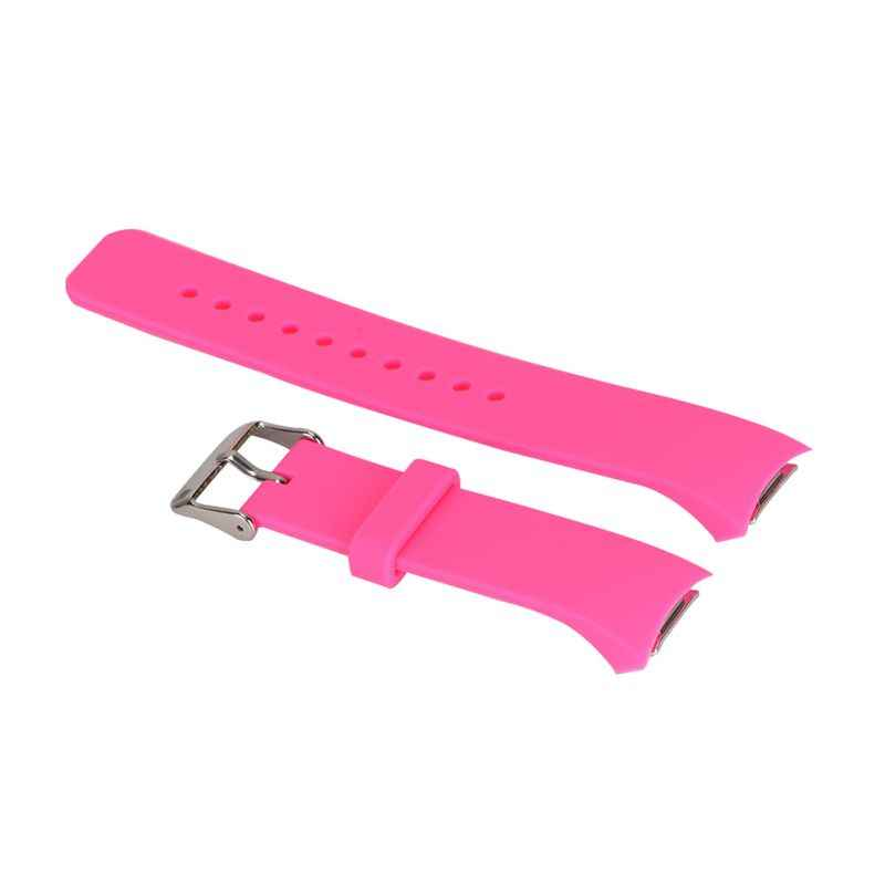 הכי חדש אופנה צבעים בוהקים לשני המינים סיליקון רצועת רצועת השעון החלפה עבור Samsung Galaxy Gear S2 R720 TR חנות 16 צבעים