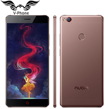 "Original ZTE Nubia Z11 4G LTE Teléfono Móvil 6 GB RAM 128 GB ROM 5.5 ""sin bordes Snapdragon 820 Quad Core 16.0MP NFC Huella Digital"