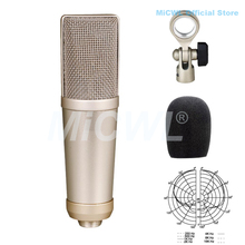 лучшая цена MiCWL B430 Professional Origin Large-Diaphragm Condenser Cardioid Microphone Sing Record Microphone One-year Quality Guarantee