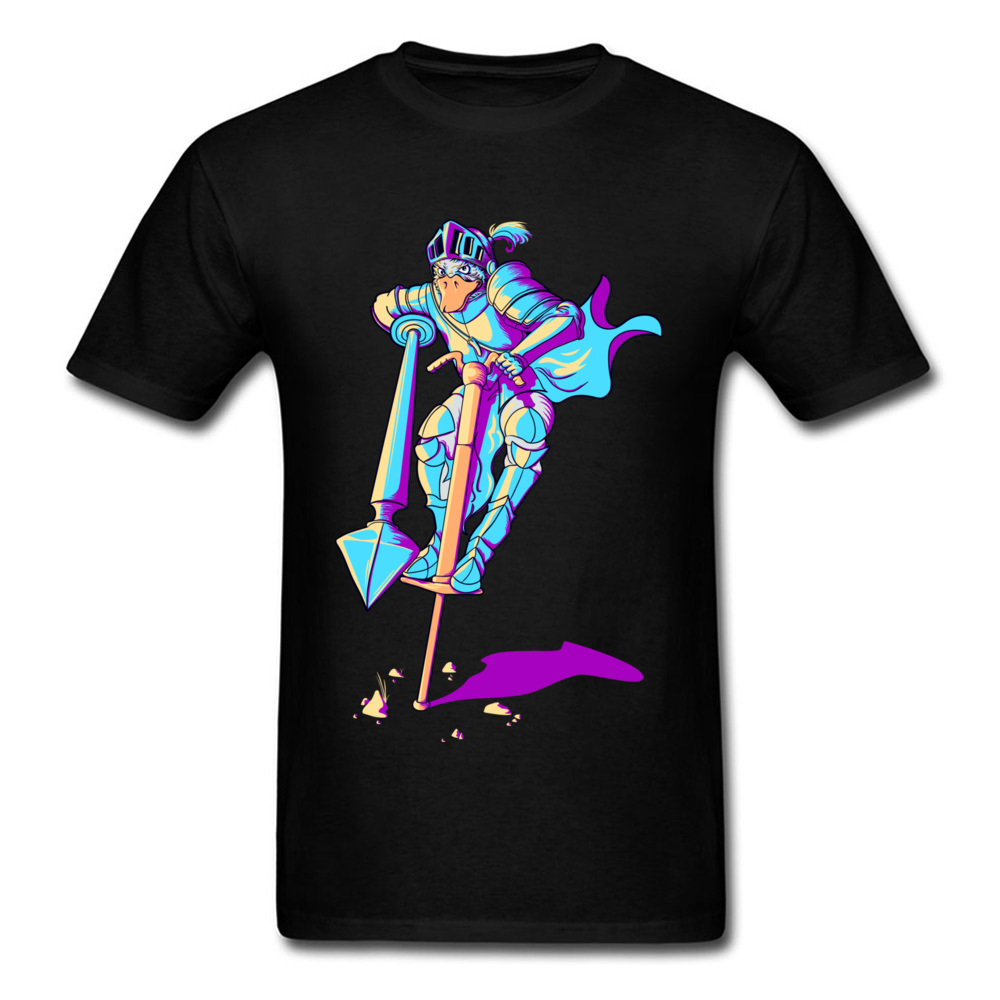New Arrivals Sir Darwin Warrior Black T-shirt For Men Male Cartoon Duck Design Cool Tees Short Sleeve Top Cotton Shirts