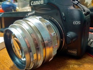 Image 3 - Электронный AF Подтверждение M42 Крепление объектива адаптер для Canon EOS 5D 7D 60D 50D 40D 500D 550D 600D Rebel T2i T3i 1100D