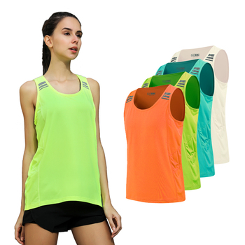 Yoga Vest Solid Color Loose Comfortable Quick Drying Top 2018 Running Summer Gym Sports Sleeveless Workout Women Fitness Tank