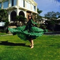 2017 летний новый стиль женщины dress robe femme плюс размер женщин vestido де ренда длинные зеленые dress vintage sexy club dress WD530