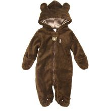 Winter Animal baby shapes baby coat pajama