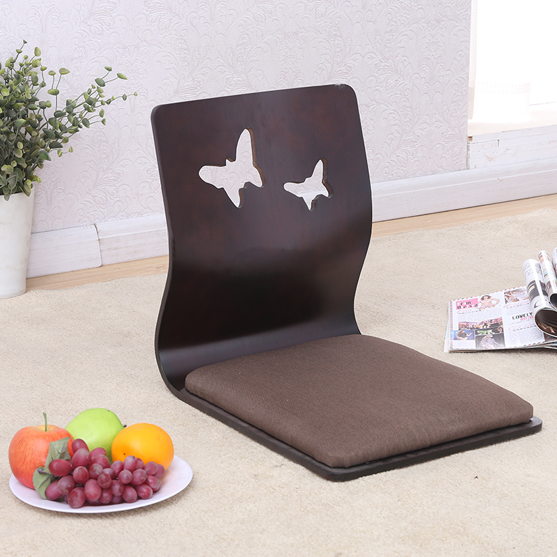 (4pcs/lot)Asia Japanese\Korean Chair Design Zaisu Legless Chair Furniture Japan Living Room Tatami Floor Legless Chair Wholesale