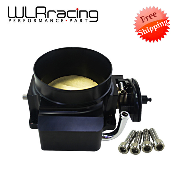 WLRING -Free SHIPPING- NEW THROTTLE BODY FOR 92MM GM GEN III LS1 LS2 LS6 THROTTLE BODY LS3 LS LS7 SX LS 4 BOLT CABLE WLR6937