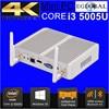 Eglobal Cheapest I5 I3 Broadwell Mini PC Windows 10 Barebone Computer Intel Core I3 5005U 2GHz