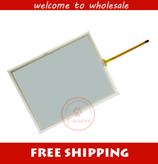 Touch Screen Panel Glass + Protective film For MP277 10 6AV6643 0CD01 1AX1