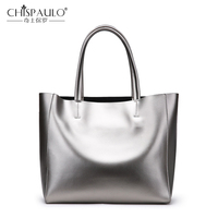 Fashion Genuine Leather Women Bags Large Capacity Ladies Handbags High Quality Natural Leather Shoulder Bag Female