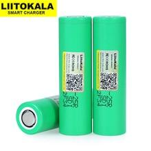 20 قطعة Liitokala 18650 2500mah بطاريات الليثيوم التفريغ 20A INR1865025R الإلكترونية السجائر بطارية 18650 25R ل 2019