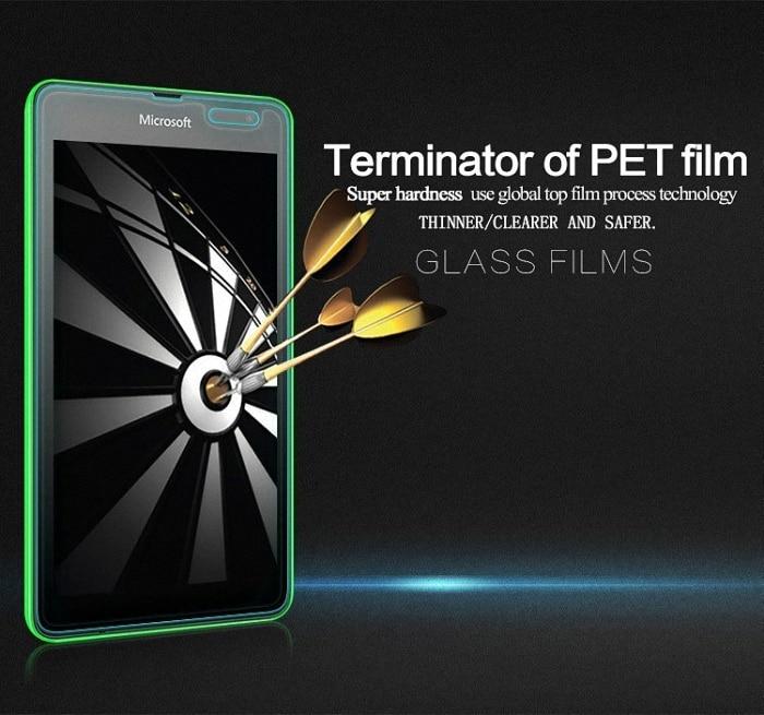 Tempered Kaca Screen Protector untuk Microsoft Nokia Lumia 430 435 - Aksesori dan suku cadang ponsel - Foto 3