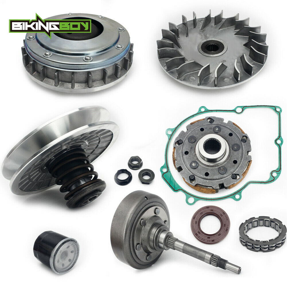 BIKINGBOY For HISUN ATV UTV 500 700 Wet Clutch Drum Housing Primary Sheave Secondary CVT One