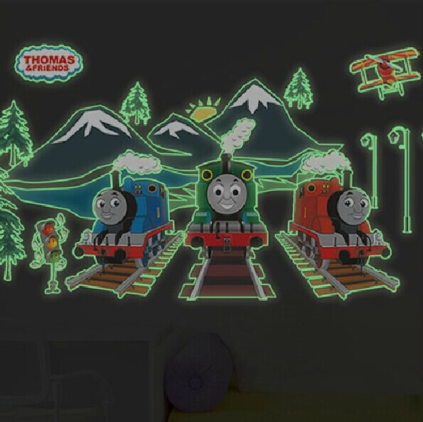 Zug cartoon kaufen billigzug cartoon partien aus china zug - Leuchtende wandtattoos kinderzimmer ...