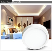 LED Panel Light 6/12/18W AC100-240V Surface Square/Round Ceiling Recessed Lights Downlight with Remote for Household business