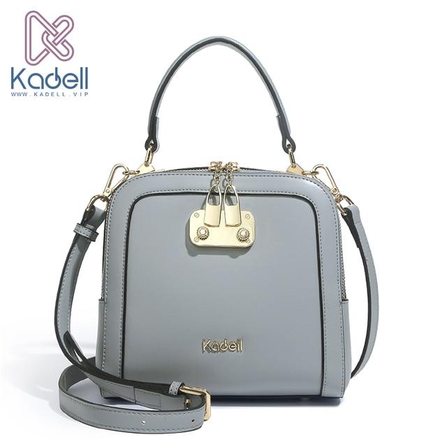 Kadell бренд 2018 новые роскошные женские Сумки из искусственной кожи Дизайнерские высокого качества сумки через плечо для женщин сумки на плечо для женщин