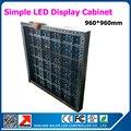 960 * 960 мм p10 из светодиодов витрины просто железо из светодиодов знак кабинет не из светодиодов модули