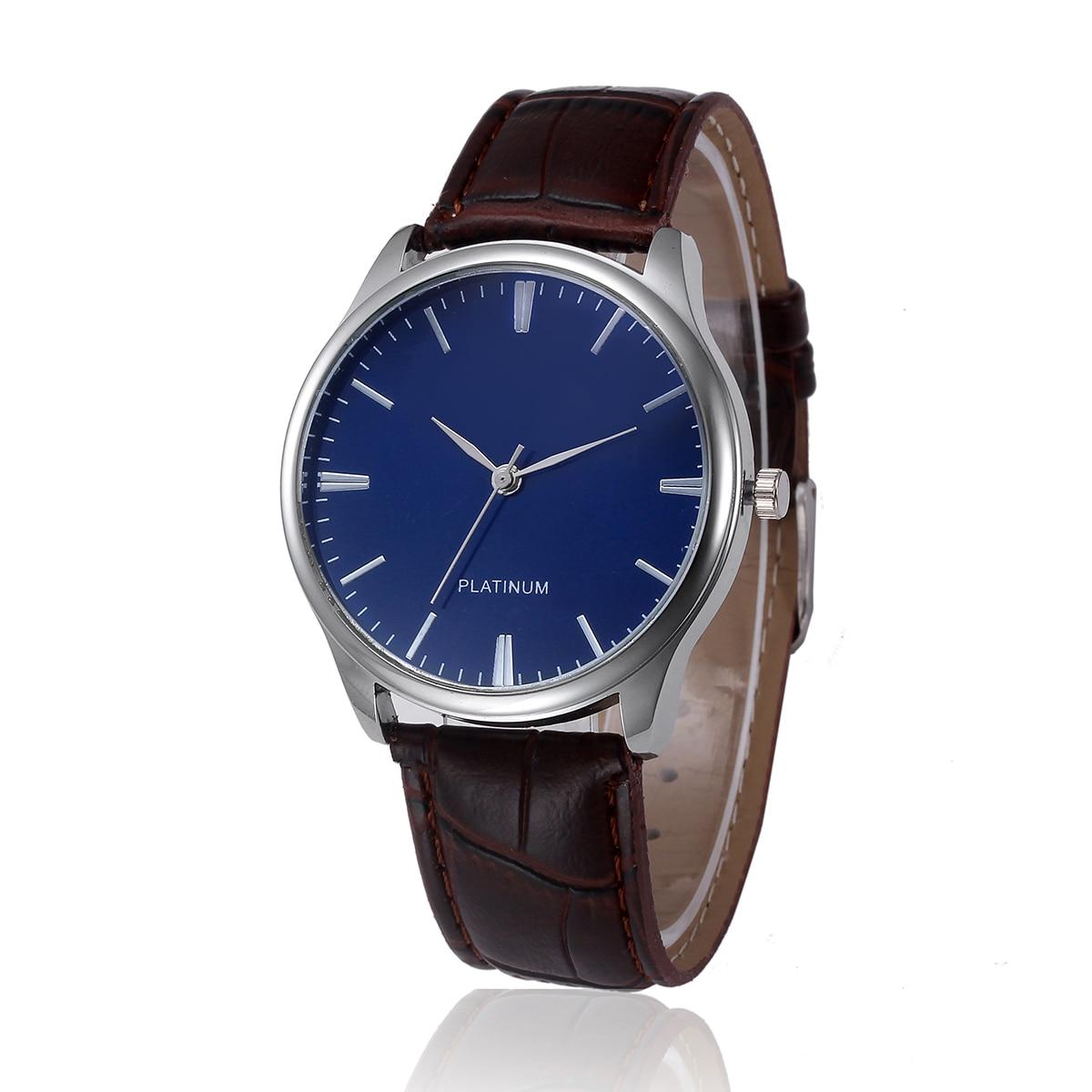 822133493af Fabulous Design de Moda Retro Liga Analógico Pulseira de Couro Quartz  Relógio de Pulso relogio bayan kol saati  07