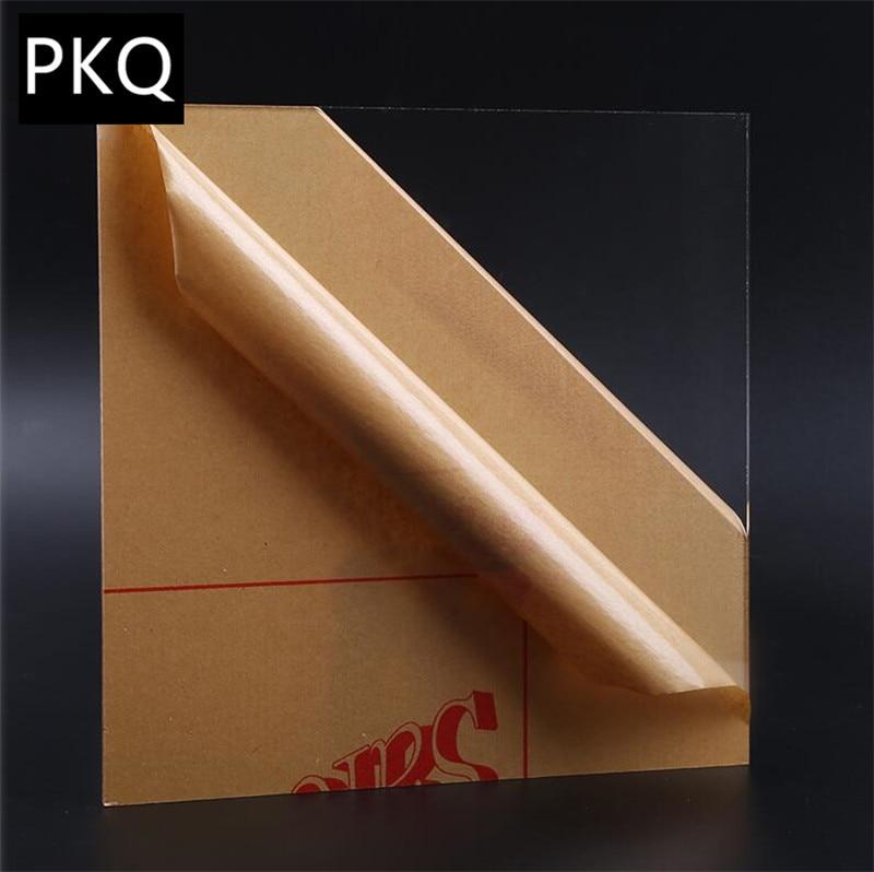 20x20cm 20x30cm Acrylic Board Plexiglass Perspex Sheet Clear Acrylic Perspex Sheet Plastic Transparent Board 2 10 Mm Thickness Window Dressing Hardware Aliexpress