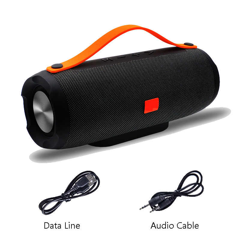 E13 Mini Speaker Portabel Bluetooth Nirkabel Stereo Speakerphone Musik Radio Subwoofer Speaker untuk Komputer dengan TF FM