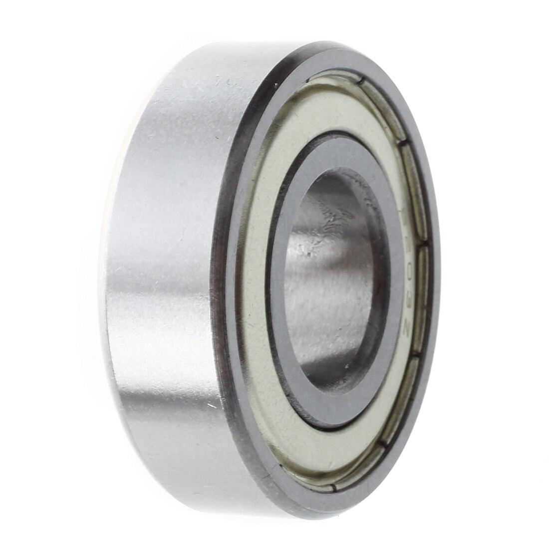 17 x 40 x 12 mm deep groove Double Boucliers métrique Roulement à billes 6203Z