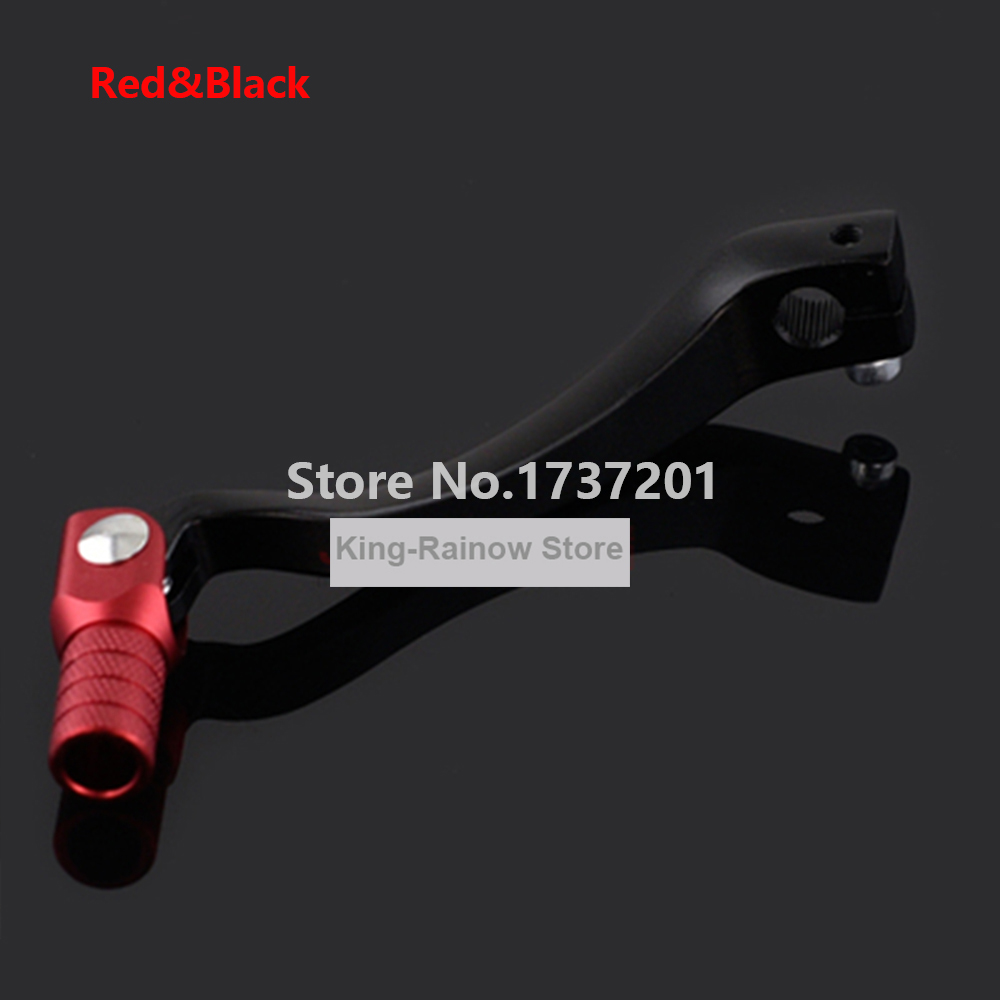 Bottone CNC Aluminum Folding Gear Shift Shifter Lever Motorcycle Parts Gearshift For Motorcycle ATV Dirt Bike