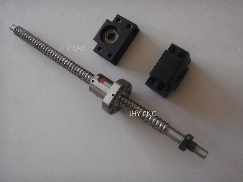 1antibacklash ballscrew RM1605-300mm-C7+BK//BF12+coupler