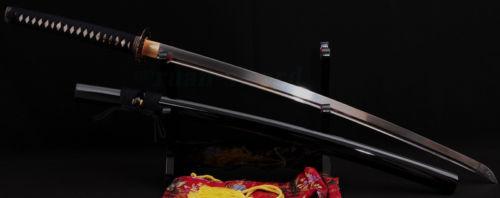 41'SİZ YAPANENSİ SAMURAI SWORD KATANA DAĞDIĞI DAĞLI TANG IRON - Ev dekoru - Fotoqrafiya 6