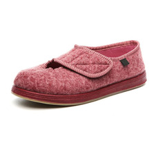 2017 spring autumn Women's Comfortable Shoes Front Opening Breathable Flat Shoes Professional diabetes health care shoes
