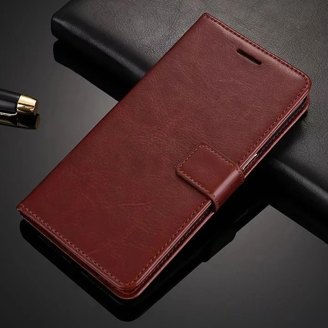 Vintage Wallet PU Leather Flip Cover Case For iPhone 7 7 Plus 6s 6 Plus With Stand Card Phone Bag Funads Case For iPhone 5 5S SE