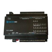 24DI commutateur entrée 8AI analogique quantité acquisition Ethernet IO module RS485 232 PLC extension