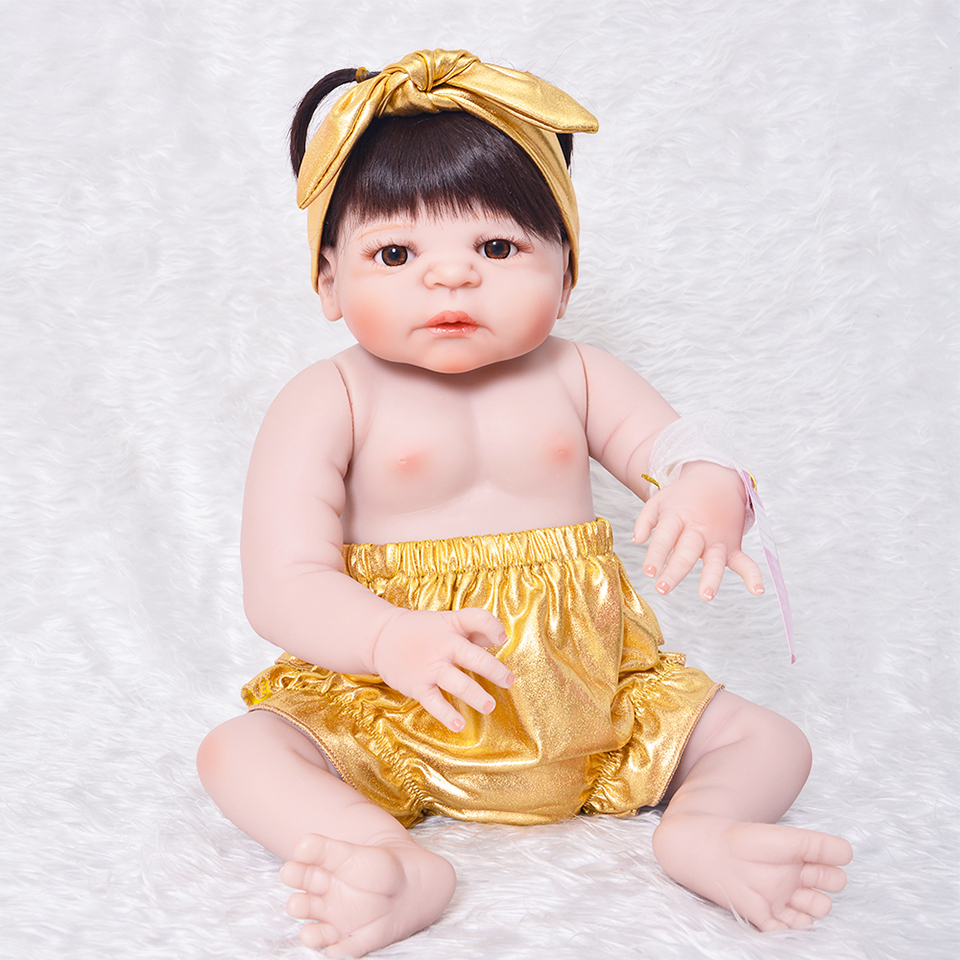 Waterproof Reborn Vinyl Babies Doll Toy Girl or Boy 23 inch Handmade Simulation Baby Doll With Free Giraffe Gifts For kids Gifts new gym sport pants men rashgard jogging pants fitness joggers running pants men sportswear sweatpants elastic training trousers