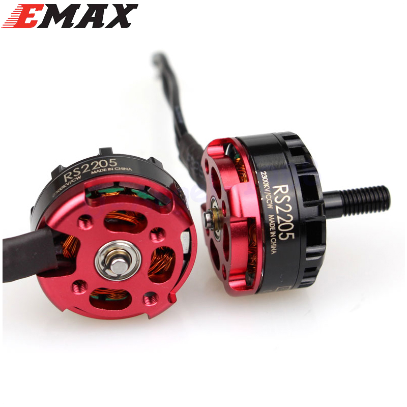 1pcs Emax RS2205 2300KV Racing Edition CW/CCW Motor For FPV Multicopter RC Quadcopter wholesale Dropship 4x emax mt1806 brushless motor cw ccw
