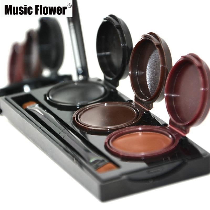 2018 Music Flower Brand Maquillaje Delineador de ojos en gel y en - Maquillaje - foto 5