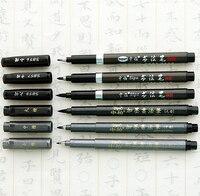 Sipa água preto caneta caneta caneta caneta de pincel caneta caneta caneta caligrafia ultra fina desenho fineliner