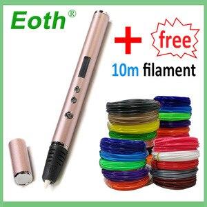3D Pen 1.75mm ABS/PLA DIY LED