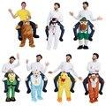 Смешно Carry Me Fancy Dress Up Ездить На Октоберфест Талисмана Талисмана Партии Halloween Costume One Size Fits Most Fancy Pants