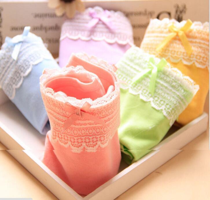 Трусики для девочек, мягкая ткань нижнее белье хлопковые трусы, детские трусы, трусы для детская одежда для девочек; 4 шт./лот C-SQ-CC006XL-4P