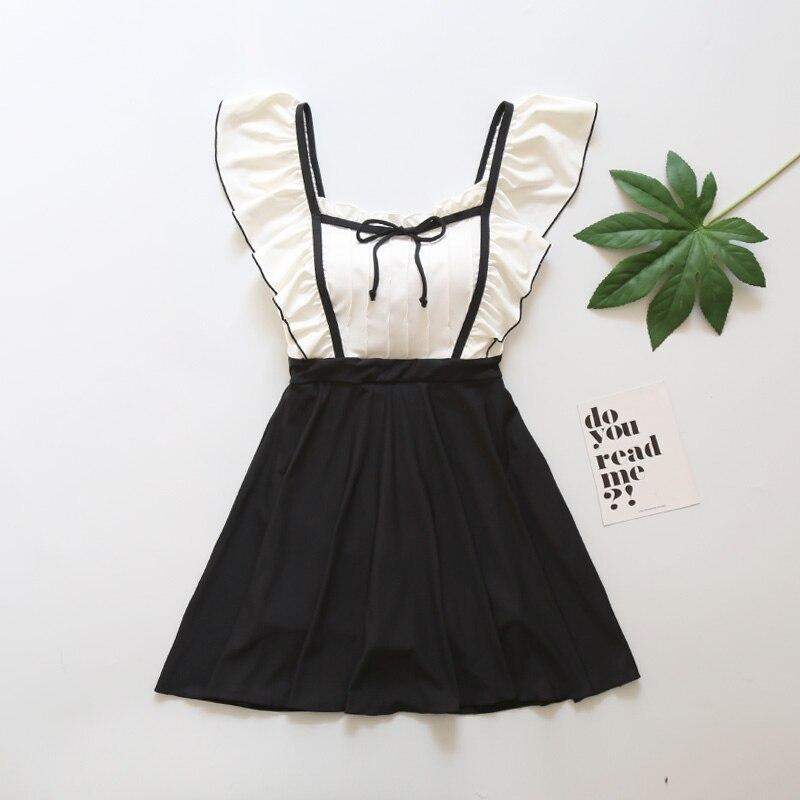 Классическая юбка для девочек; купальный костюм