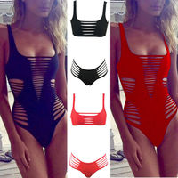2016 Summer Style Agent Provocateur Bikini Ebay Gather More Rope Straps Hollow Sexy Bikini Swimwear Bikini