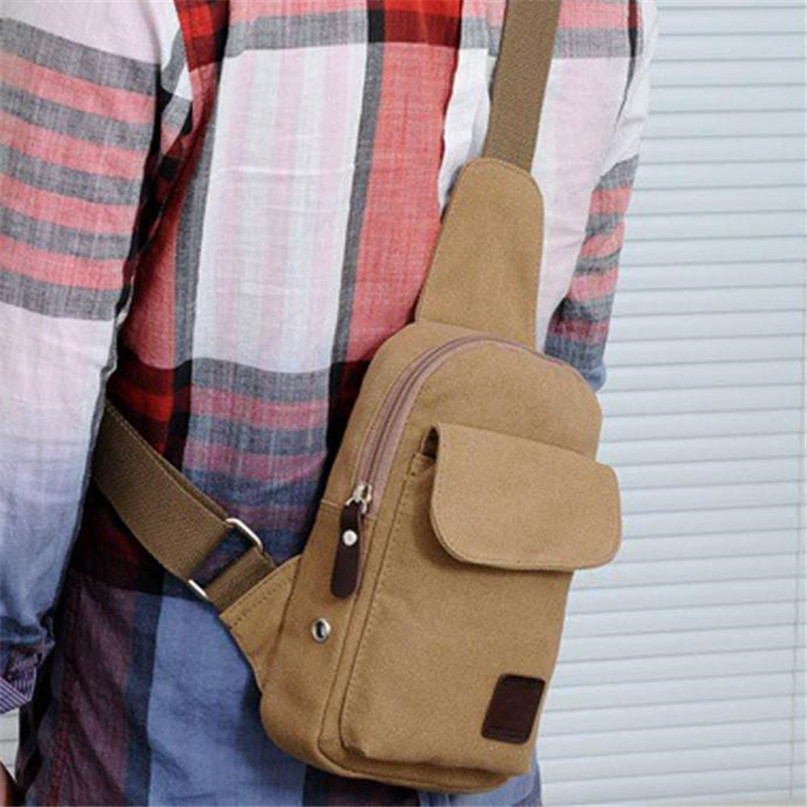 Multifunction Diagonal shoulder chest bag sports bag Men Outdoor Sport Leg Bag Canvas Waist Bag Money Belt Fanny Pack #2a (12)