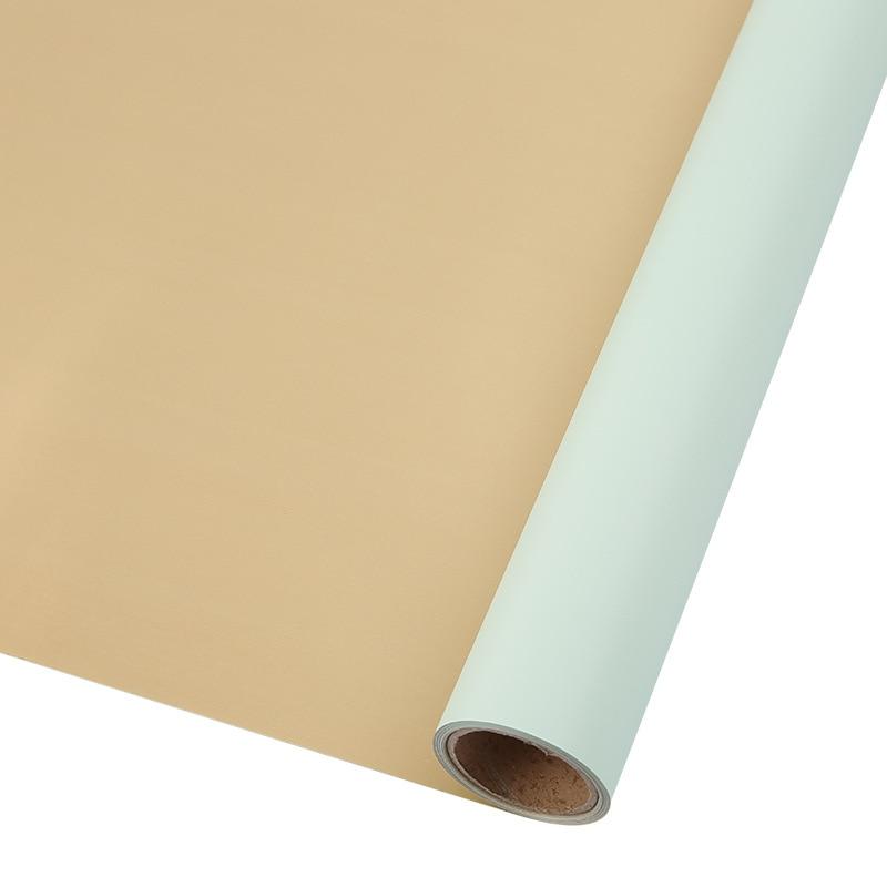 60 см* 10 м/рулон конфеты цвет цветок оберточная бумага Роза свадебная бумага для украшения на рождество упаковка букета материал - Color: N6