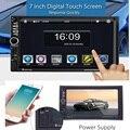 Univeral 2 DIN Carro DVD Player De Vídeo 1080 P HD Tela de Toque do Jogador USB Navegação GPS MP4/MP5 Bluetooth vista traseira Reversa