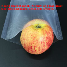 20cm x 25cm 100PCS Fresh-keeping Bag Of Vacuum Sealer Food Storage Bags Packaging Film Keeps Fresh up to 6x Longer