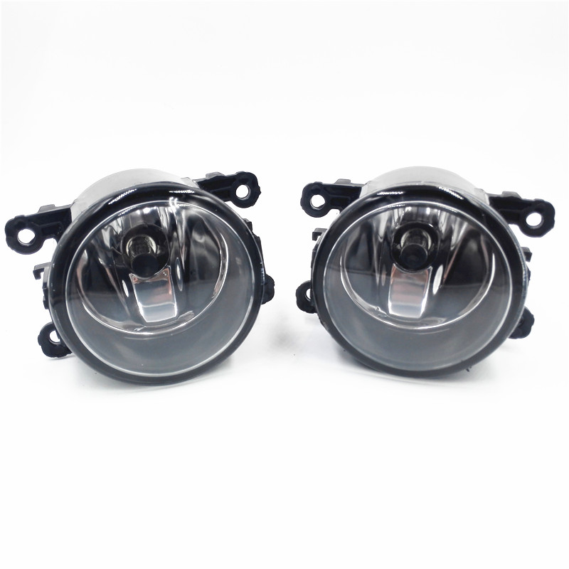 Car Styling Halogen Fog Lights Fog Lamps For Mitsubishi Outlander  2007-2012  12V  2 PCS for suzuki grand vitara 2 2005 2015 for ford focus for renault duster for mitsubishi outlander front fog lights halogen lamps