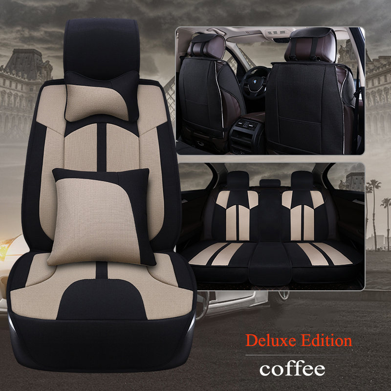 Kalaisike leather Universal Car Seat covers for Geely all models Emgrand EC7 X7 FE1 car styling car accessorie auto Cushion